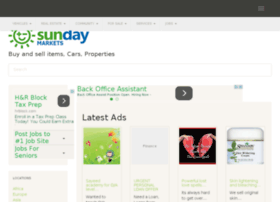 Sundaymarkets.net thumbnail