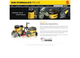 Sunhydraulics.com.sg thumbnail