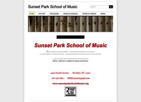 Sunsetparkschoolofmusic.org thumbnail
