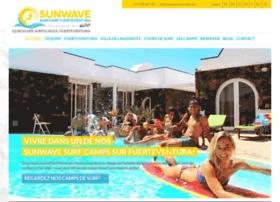 Sunwavesurfcamp.fr thumbnail