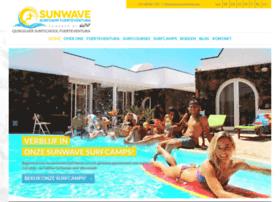 Sunwavesurfcamp.nl thumbnail
