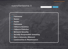 Suonofantasma.it thumbnail