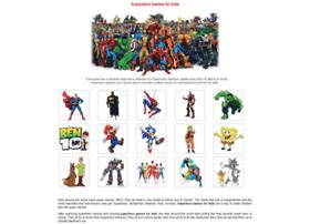 Super-hero-games.com thumbnail