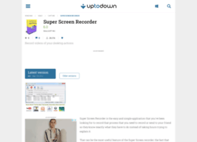 Super-screen-recorder.en.uptodown.com thumbnail