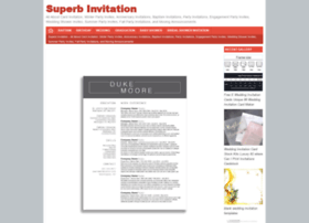 Superbinvitation.com thumbnail
