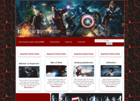 Superhero-games.online thumbnail