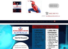 Superheroparties.biz thumbnail
