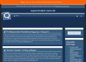 Supersmoker-zero.de thumbnail