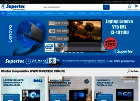 Supertec.com.pe thumbnail