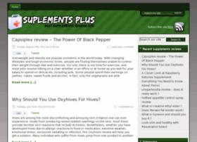 Supplementsplus.org thumbnail