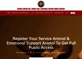 Supportdogcertification.org thumbnail