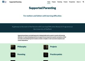 Supportedparenting.co.uk thumbnail