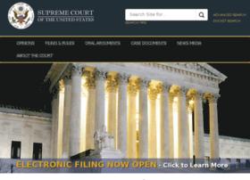 Supremecourtus.gov thumbnail