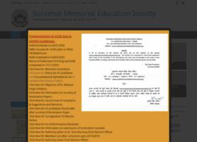 Surajmalmemorialeducationsociety.org thumbnail