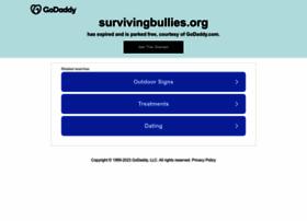 Survivingbullies.org thumbnail