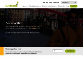 Sustrans.org.uk thumbnail