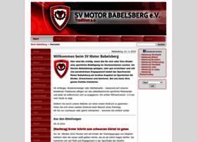 Sv-motor-babelsberg.de thumbnail
