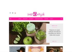 Svetevity.sk thumbnail