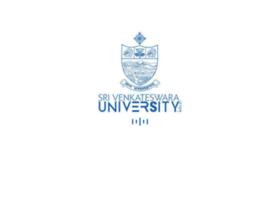 Svuniversity.ac.in thumbnail