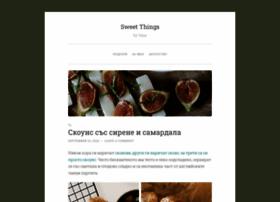 Sweet-things.bg thumbnail