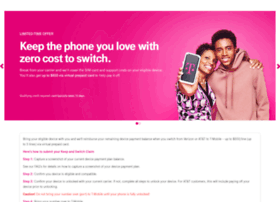 switch2tmobile switch2tmobile.com at WI. T-Mobile Carrier Freedom