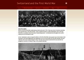 Switzerland1914-1918.net thumbnail