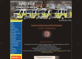 Sykesvillefire.org thumbnail