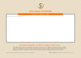 Syllablecounter.org thumbnail