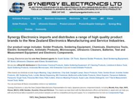 Synergyelectronics.co.nz thumbnail