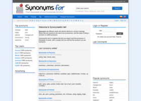 Synonymsfor.net thumbnail