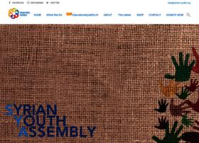Syrian-youth.org thumbnail