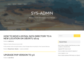 Sys-admin.co.in thumbnail