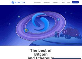 Syscoin.info thumbnail