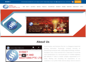 Sysnet.com.sg thumbnail