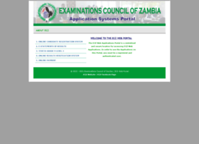 Systems.exams-council.org.zm thumbnail