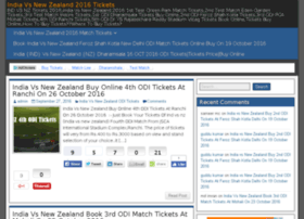 T20tickets.in thumbnail