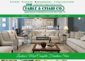 Tableandchair.ca thumbnail