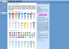 Tableicon Com At Wi Icons For Web Design