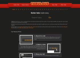 Tabulous.co.uk thumbnail