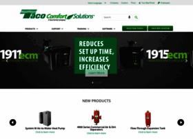 taco-hvac com at WI  Taco Comfort Solutions   A Taco Family