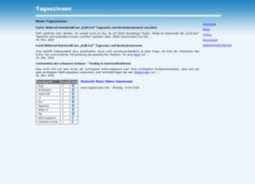 Tageszinsen.info thumbnail