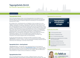 Tagungshotels-zuerich.ch thumbnail