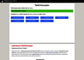 Tahlilsonuclari.gen.tr thumbnail