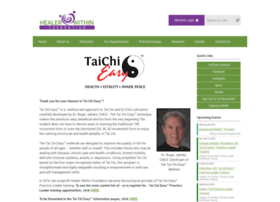 Taichieasy.org thumbnail
