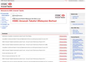 Takaful.hsbcamanah.com.my thumbnail