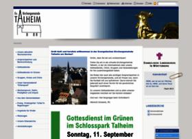 Talheim-neckar-evangelisch.de thumbnail