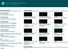 Talk.milkywayproject.org thumbnail