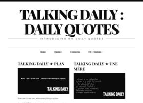 Talkingdaily.info thumbnail