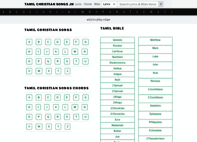 Tamilchristiansongs.org thumbnail