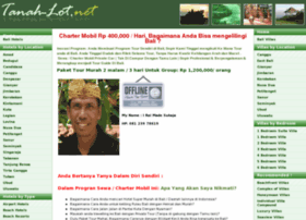 Tanah-lot.net thumbnail